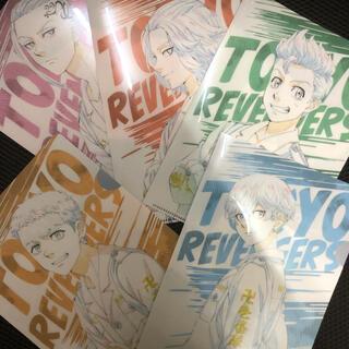 セブンイレブン限定☆東京リベンジャーズA5クリアファイル5種(クリアファイル)