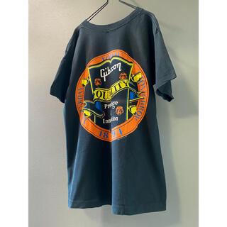 ギブソン(Gibson)の古着 ビンテージ 90s USA Gibson ギブソン Tシャツ(Tシャツ/カットソー(半袖/袖なし))