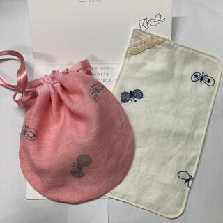 ミナペルホネン(mina perhonen)のミナペルホネン ハンドメイド 巾着セット 感謝SALE choucho(その他)