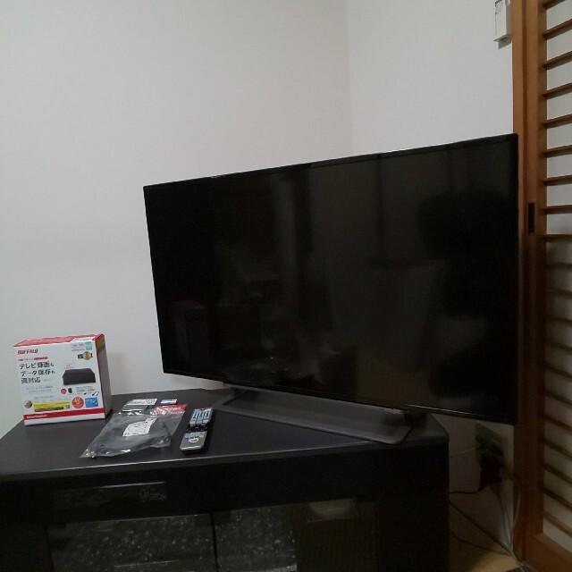 東芝(トウシバ)の6TB/4K対応/美品/無線LAN内蔵/ダブ録★東芝 REGZA43型液晶テレビ スマホ/家電/カメラのテレビ/映像機器(テレビ)の商品写真
