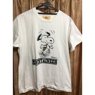 ケルティ(KELTY)の美品★ケルティ×ピーナッツ コラボTシャツ ホワイト/M(Tシャツ/カットソー(半袖/袖なし))