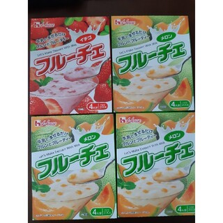 ハウスショクヒン(ハウス食品)のフルーチェ 4箱(菓子/デザート)