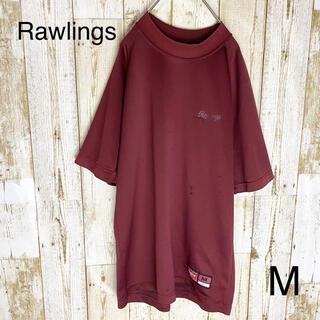 ローリングス(Rawlings)のRawlings ローリングス アシックス 野球 アンダーシャツ  赤 M(ウェア)