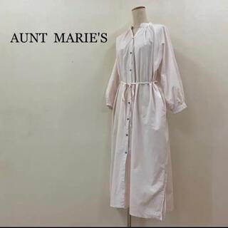 アントマリーズ(Aunt Marie's)のアントマリーズ ロング シャツワンピース(ロングワンピース/マキシワンピース)