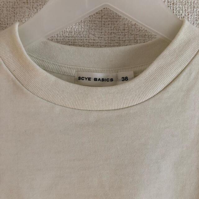 Scye(サイ)のSCYE BASICS Tシャツ レディースのトップス(Tシャツ(半袖/袖なし))の商品写真