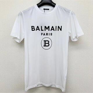 バルマン(BALMAIN)のBALMAIN PARIS バルマン ロゴtシャツ(Tシャツ/カットソー(半袖/袖なし))