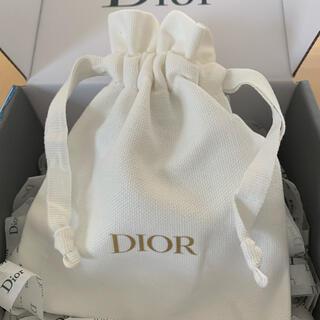 ディオール(Dior)のDior【新品未使用】ノベルティ巾着ポーチ(ポーチ)