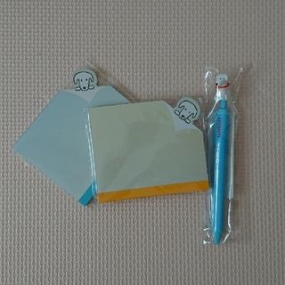 イオン(AEON)のWAONワオン メモ帳&ボールペン【非売品】(キャラクターグッズ)