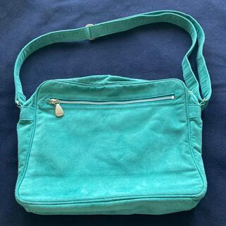 ポールスミス(Paul Smith)のポールスミス本革ユニセックススウェードショルダーバッグ薄エメラルドグリーン色(ショルダーバッグ)