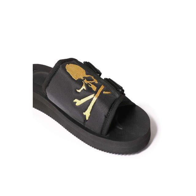 mastermind JAPAN(マスターマインドジャパン)のmastermind JAPAN × SUICOKE 27cm GOLD 黒金 メンズの靴/シューズ(サンダル)の商品写真