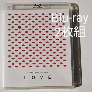 """アラシ(嵐)の嵐【 Live Tour 2013""""LOVE""""】〈Blu-ray2枚組〉字幕付き(ミュージック)"""