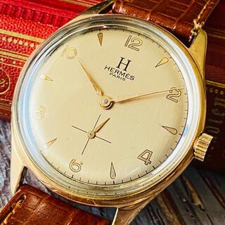 エルメス(Hermes)の★大人気・希少★HERMS PARIS アンティーク 手巻き腕時計 メンズ(腕時計(アナログ))