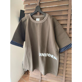 uniform experiment - uniform experiment Tシャツ 新品未使用