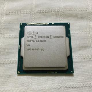 省電力CPU  Haswellの動作確認用に!  G1820TE (PCパーツ)