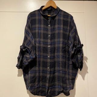 バーニーズニューヨーク(BARNEYS NEW YORK)のミューニックのお洒落なシャツ 5部袖(シャツ/ブラウス(長袖/七分))