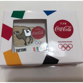 コカコーラ(コカ・コーラ)の新品未使用 コカコーラピンバッチ 鳥取県(バッジ/ピンバッジ)