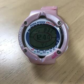 スキューバプロ(SCUBAPRO)のダイビングコンピュータ スキューバプロ GUMI ピンク(マリン/スイミング)