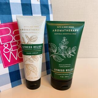 バスアンドボディーワークス(Bath & Body Works)の【新品】バスアンドボディワークス ユーカリスペアミント(日用品/生活雑貨)