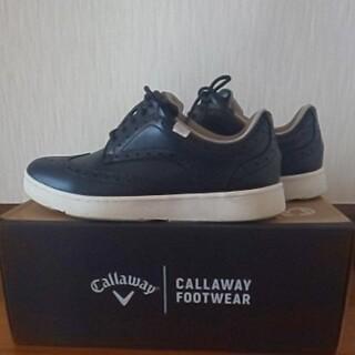 キャロウェイ(Callaway)のお値引《美品》 Callaway  スパイクレス ゴルフシューズ  25.5cm(シューズ)