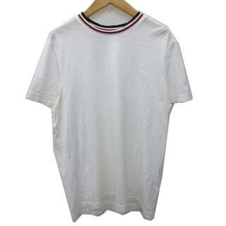 モンクレール(MONCLER)のモンクレール 18SS MAGLIA Tシャツ 半袖 衿トリコロール S(Tシャツ/カットソー(七分/長袖))