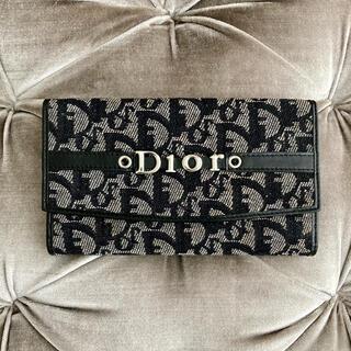 クリスチャンディオール(Christian Dior)のクリスチャンディオール 💙 ヴィンテージ トロッター 長財布(財布)