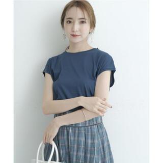 リランドチュール(Rirandture)のリランドチュール ゆるTシャツ ピーコック ブルー(Tシャツ(半袖/袖なし))