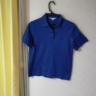クリスチャンディオール(Christian Dior)のクリスチャンディオール半袖ポロシャツ ブルー(ポロシャツ)