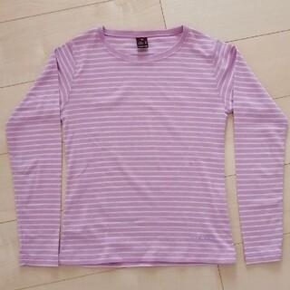 モンベル(mont bell)のモンベル 長袖Tシャツ レディース Sサイズ ウイックロン(Tシャツ(長袖/七分))