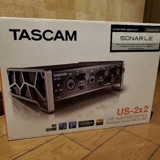 ローランド(Roland)のTASCAM US 2x2 オーディオインターフェース(オーディオインターフェイス)