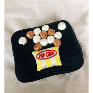 ラドロー(LUDLOW)の超美品☆LUDLOWラドロー Popcornポップコーンポーチ(ポーチ)