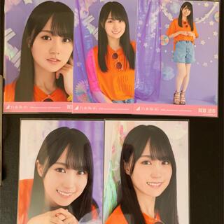 ノギザカフォーティーシックス(乃木坂46)の賀喜遥香 生写真 10周年記念 5種(アイドルグッズ)