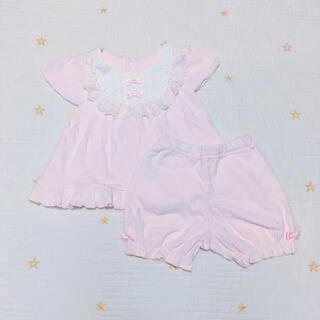 ニシキベビー(Nishiki Baby)のnishiki baby❁ガーリーセットアップ(Tシャツ)