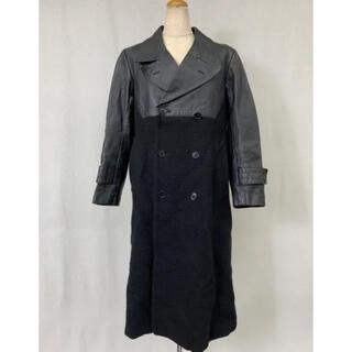 コムデギャルソン(COMME des GARCONS)のC85 used コム デ ギャルソン 切り替え ロング コート ジャケット(チェスターコート)