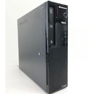 レノボ(Lenovo)のLenovo デスクトップパソコン ThinkCentre MT-M(デスクトップ型PC)