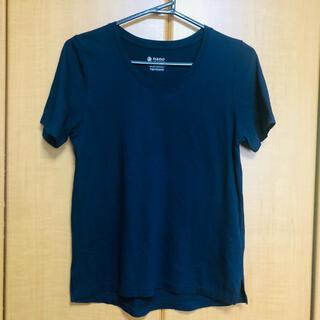 ナノユニバース(nano・universe)のnano・universeネイビーTシャツ(Tシャツ(半袖/袖なし))