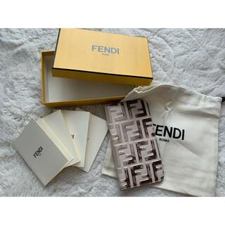 フェンディ(FENDI)のFENDI iPhoneXSレザーケース(iPhoneケース)