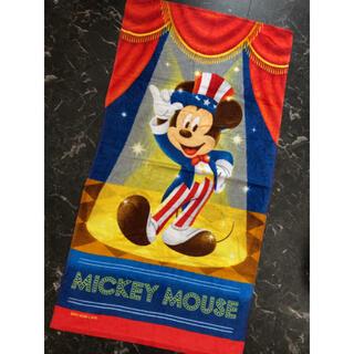 ミッキーマウス(ミッキーマウス)の新品 ディズニー ミッキー バスタオル(タオル/バス用品)