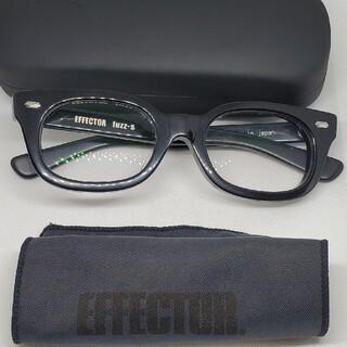 エフェクター(EFFECTOR)のEFFECTOR眼鏡 エフェクター Fuzz-sファズエス眼鏡 美品 BKSV(サングラス/メガネ)