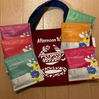 アフタヌーンティー(AfternoonTea)のAfternoon Tea/トートバッグ レッド&紅茶セット(トートバッグ)