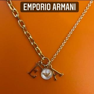 エンポリオアルマーニ(Emporio Armani)のEMPORIO ARMANIネックレス 定価15000円 美品(ネックレス)