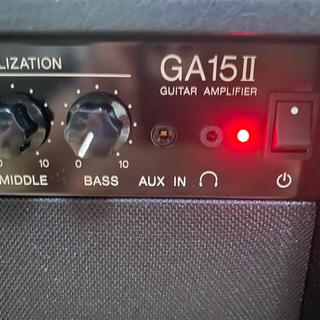 ヤマハ(ヤマハ)のヤマハ YAMAHA ギターアンプ 名器 GA15 Ⅱ 美品 完動品(ギターアンプ)