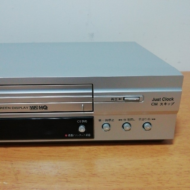 LG Electronics(エルジーエレクトロニクス)のLG VHSビデオデッキ【GV-HIA5】 スマホ/家電/カメラのテレビ/映像機器(その他)の商品写真