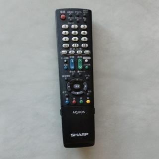アクオス(AQUOS)のシャープ テレビリモコン[ジャンク品](その他)