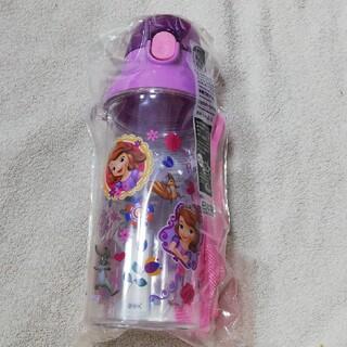 Disney - 新品 プリンセスソフィア(透明) 直飲み水筒