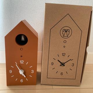 ムジルシリョウヒン(MUJI (無印良品))の無印良品 鳩時計(置時計)