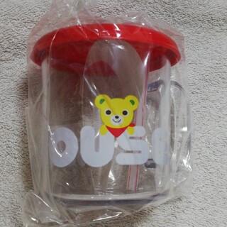 ミキハウス(mikihouse)の新品 MIKI HOUSEロゴ プラスチックカップ(グラス/カップ)