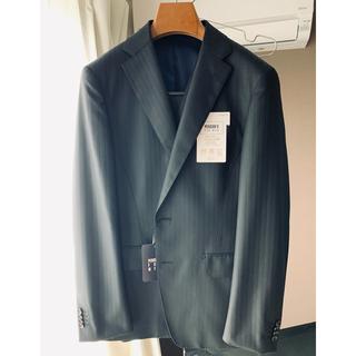 アオヤマ(青山)の新品 青山3ピース スリムスーツ YA5 ブラック(セットアップ)