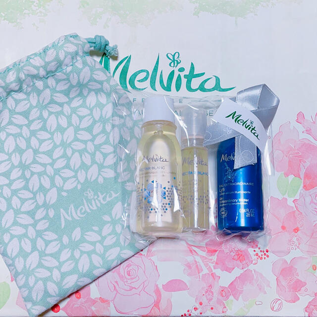 Melvita(メルヴィータ)のメルヴィータ 4点コフレセット コスメ/美容のキット/セット(サンプル/トライアルキット)の商品写真