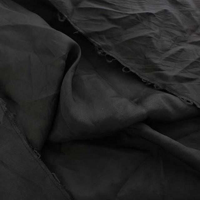 sacai luck(サカイラック)のサカイラック ワンピース ロング ラウンドネック 半袖 切替 1 S 黒 レディースのワンピース(ロングワンピース/マキシワンピース)の商品写真