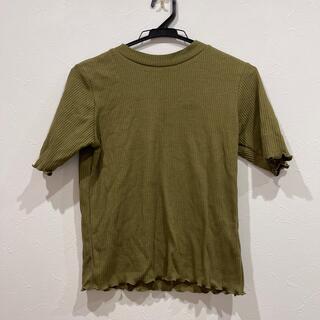 ウィゴー(WEGO)のカーキTシャツ(Tシャツ/カットソー(半袖/袖なし))